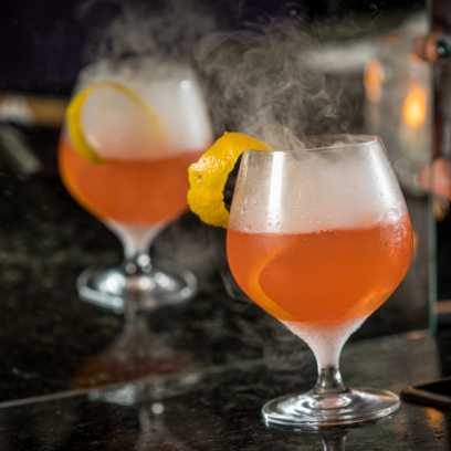 Smoke and Mirrors Cocktail